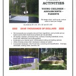 Family Activities Updates