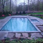 Pool with Spa, Deck & Landscaping