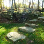 Naturalized Stone Steps