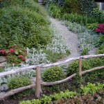 Gravel Path & Railings
