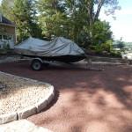 Lakefront Stone Driveway
