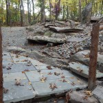 Patios built into Stones in Forest  Lewisboro