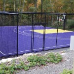Regulation 1/2 Basketball Court