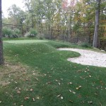 Golf Bunker & Synthetic Putting Green
