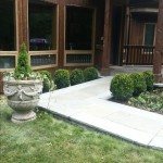 Front Walkway and Planting