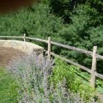 Stone Wall & Railing