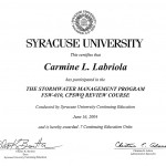 StormWater Certificate